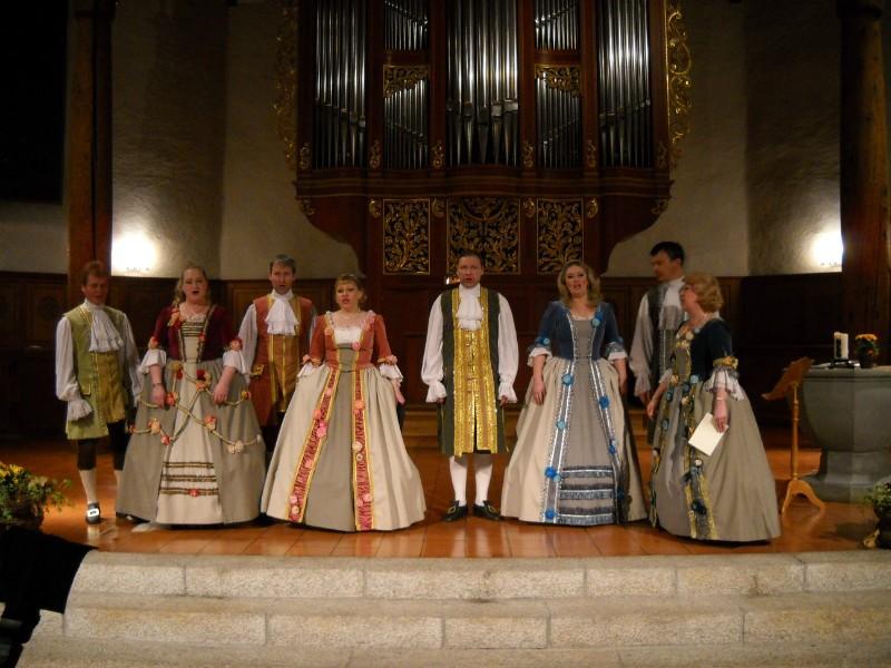 Kirchenkonzert mit dem Rozhdestvo Chor  aus St. Petersburg,     19.03.16, 20:00, Kath. Kirche Landquart