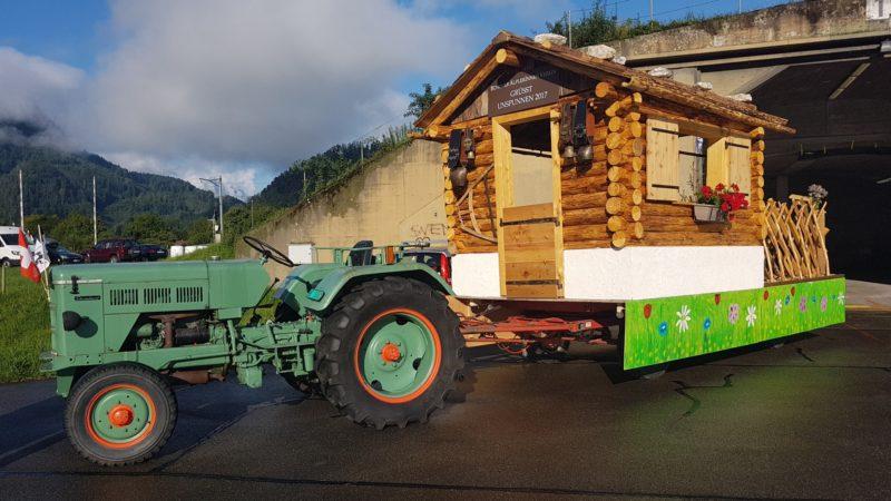 Mit unserem Umzugswagen ans Berner Kantonale